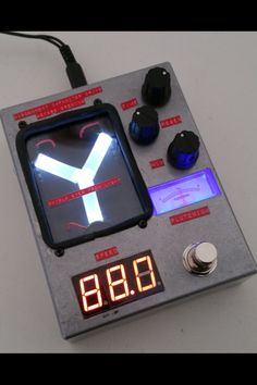 So cool, £200.... http://4114customeffects.co.uk/portfolio/flux-capacitor-delay-pedal/