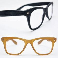 Mens Euro Chic Wood Texture Frame Glasses By Guylook.com
