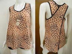 wengpot Nwot Coleen stylish back top #09 fits medium voluptuous - ave large