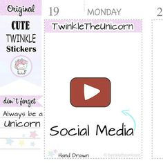 A402 |   youtube planner stickers,youtube stickers,film #supplies @EtsyMktgTool http://etsy.me/2yoA2jA #youtube #plannerstickers