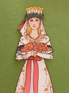 Instant Download DIY Printable Saint Lucy Articulated Paper Doll