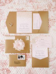 Wedding Ideas: Elegant Garden Inspired Details - MODwedding