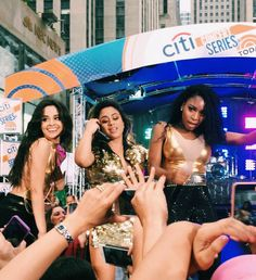 ally brooke, camila cabello, and fifth harmony image Ally Brooke, Today Show, Fifth Harmony, Girl Group, Find Image, We Heart It, Collection, Hamilton, Celebrities