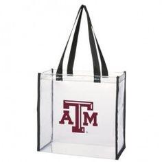 Texas A&M Aggies Clear Stadium Tote
