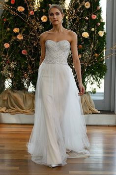 Wedding gown by Isabelle Armstrong.