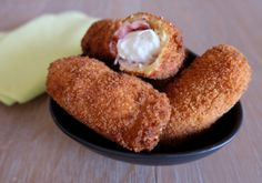 Fingers mozzarella bacon panés | Croquons La Vie - Nestlé