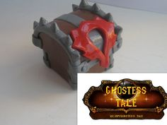 Box World of Warcraft Horde Chest Jewelry proposal от GhostessTale