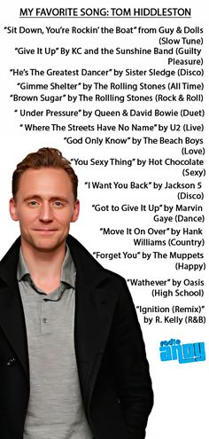 Tom Hiddleston On My Favorite Song With John Benjamin Hickey: https://soundcloud.com/daisyjj/tom-hiddleston-on-my-favorite-song-with-john-benjamin-hickey?in=aryxiddlestoner/sets/tom-hiddleston