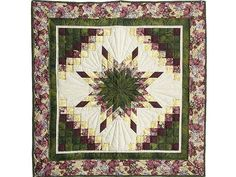 lone star quilt pattern | Lone Star Trip Quilt -- terrific specially made Amish Quilts from ...