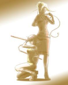 赤ベコ - Final Fantasy VIII - Selphie / Quistis
