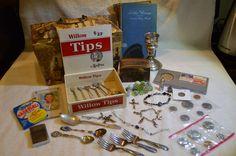 Boxes of Antique Treasures & Goodies