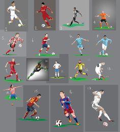 Football Vectors by Dan Leydon