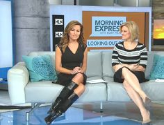 THE APPRECIATION OF BOOTED NEWS WOMEN BLOG : robin meade