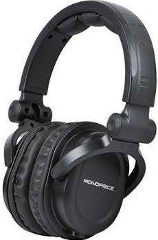 Monoprice Premium Hi-Fi DJ Style Over The Ear Professional Headphones - Black with Microphone for Studio PC Apple iPhone iPod Android Smartphone Samsung Galaxy Tablets - Kokania - Best Online Store Headphones With Microphone, Best Headphones, Headphone With Mic, Wireless Headphones, Over Ear Headphones, Studio Headphones, Equipment For Sale, Audio Equipment, Tecnologia