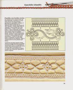 Inspirações de Croche com Any Lucy: Barrado