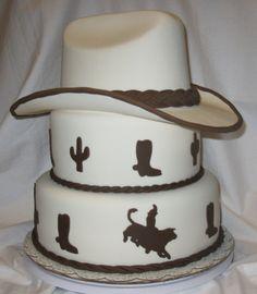 www.cakeswebake.com bull riding cake