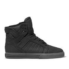 Black Supras I want these soooo bad ;c