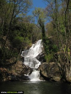 Garganta de las Nogaledas, Navaconcejo, Valle del Jerte, Cáceres