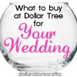 Dollar Store Crafts » Blog Archive » Link Up for the Wedding Craft Challenge!