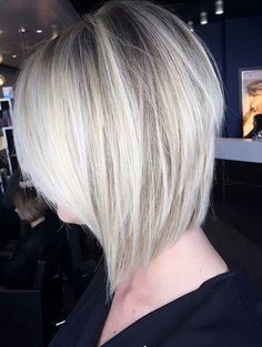 Blonde bob ❤️ Behindthechair insta❤️