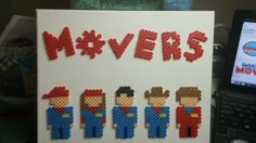Imagination movers on canvas