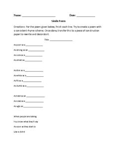 Printables Figures Of Speech Worksheet englishlinx com figures of speech worksheets these are great for working with use the beg