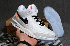 lowest price 6fbdf 1296c Wholesale basketball shoes sneakers mans Air Jordan 3 Off White-4  Basketball Sneakers, Nike