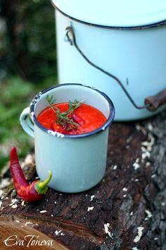 Roasted Red Pepper Soup Супа от печени червени чушки