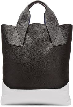 Jil Sander Leather Shopper