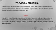 Televizyon dikkati dağıtıyor