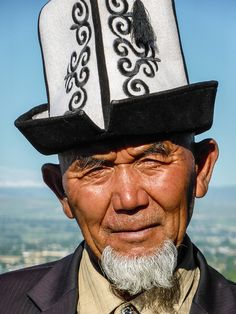Portrait from Kyrgyzstan
