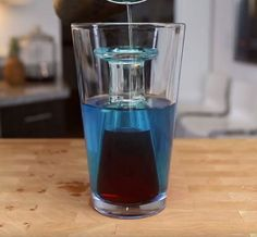 Shark Attack Shot - For more delicious recipes and drinks, visit us here: www.tipsybartender.com