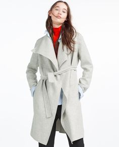 HAND MADE COAT-View All-OUTERWEAR-WOMAN | ZARA United Kingdom