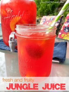 A fresh and fruity jungle juice recipe that only takes 5 mintues!  #KoolOff  #shop