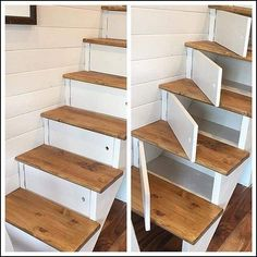 Ideen für DIY-Holzprojekte Wood Crafts wood craft ideas to make Diy Wood Projects, Home Projects, Woodworking Projects, Small Space Stairs, Small Spaces, Decorating Your Home, Diy Home Decor, Diy Shoe Rack, Shoe Racks