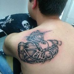 28 Best Firefighter Tattoo Designs to Show Your Love 28 Best Firefighter Tattoo Designs to Show Your Best Firefighter Tattoo Designs to Show Your LoveFirefighters are one of the man Full Body Tattoo, Body Tattoos, Arm Tattoo, Firefighter Watches, Twin Towers Falling, Detailed Tattoo, Geniale Tattoos, Powerful Images, Great Tattoos
