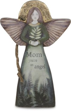 "Mom, 5.5"" Angel Ornament - Sherry Cook Studio - Pavilion"