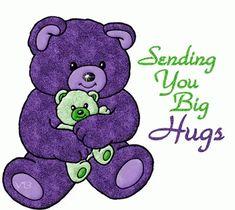 And Hug Kisse Glitter Graphics Hugs And Kisses Quotes, Hug Quotes, Kissing Quotes, Sorrow Quotes, Love You Gif, Love Hug, Teddy Bear Quotes, Hug Pictures, Hug Images