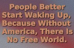 No Free World for sure!