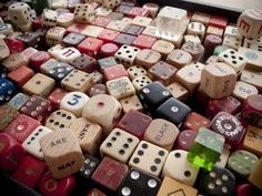 I do actually collect dice.  Well, I used to.  I was mocked and got rid of much of it.  I miss them...  :'(