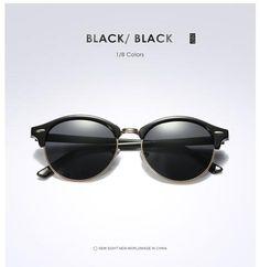 30770760b New Polarized Round – GaGodeal Óculos Sem Aro, Acessórios De Vestuário, Óculos  Polarizados,