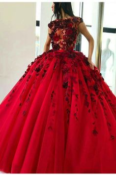 Shop long Quinceanera dresses and gowns at kemedress. Floor-length glamourous ball gowns for Quinceanera parties and courts.Purple, aqua, turquoise, and pink quinceanera dresses. Prom Dresses With Sleeves, Lace Evening Dresses, Cheap Prom Dresses, Quinceanera Dresses, Dress Prom, Quinceanera Ideas, Evening Gowns, Red Ball Gowns, Ball Gowns Prom