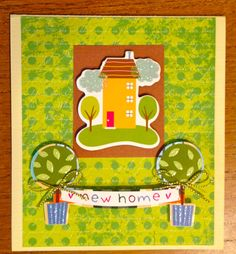 New Home Card by ScrapsandStraps on Etsy, $3.75
