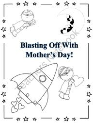 Mother's Day Coloring Bookmarks. #mother #mom #coloring