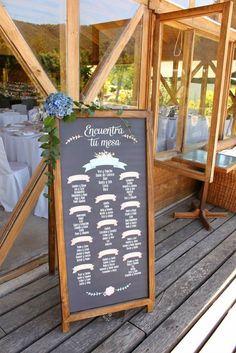 Pizarras en las bodas | AtodoConfetti - Blog de BODAS y FIESTAS llenas de confetti