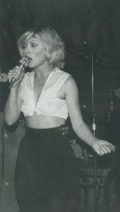 Debbie Harry at CBGBs 1975