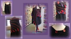 *11002* LEFTIELOVESYOU een combinatie van een heerlijke shawl met poncho gemaakt door Corine Bloemendal. Corine heeft het patroon Leftie van Matina Behm gebruikt samen met een eigen ontwerp poncho. Gebreid met Dropslovesyou4, een limited edition van Drops bestaande uit Alpaca, wol en een vleugje linnen. We hebben nog enkele kleuren voorradig maar genoeg alternatieven waarmee je deze combi kunt maken. Dit hangt in de winkel dus kom kijken, Corine verteld je er graag meer over…
