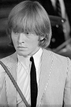 Brian Jones of The Rolling Stones performing in London for the Red Skelton Hour, August 5, 1964 (Photo by CBS via Getty Images)