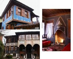 Bulgaria The Old Town of Plovdiv... preserved in its 18-19 century look...Many of the houses R now museums.