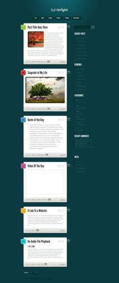 Tumblr-Style WordPress Themes